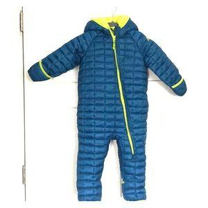 Snozu Fleece Lined Blue Snowsuit